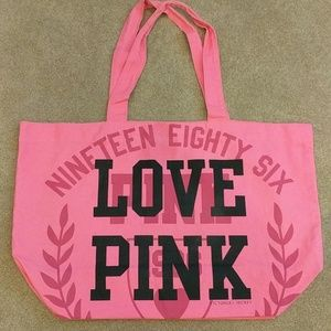 New Victoria's Secret Pink pink tote